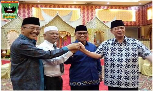 Wakil Gubenur Sumatera Barat Nasrul Abit Dampingi Lakukan Verifikasi MTQ Nasional Ke XXVIII Tahun 2020.