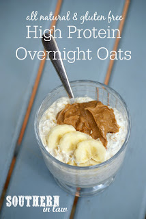 Healthy High Protein Overnight Oats Recipe Gluten Free