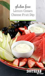Easy Lemon Cream Cheese Fruit Dip Recipe