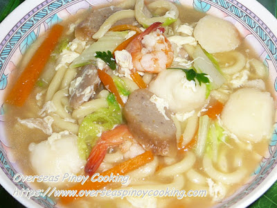 Lomi Special Dish