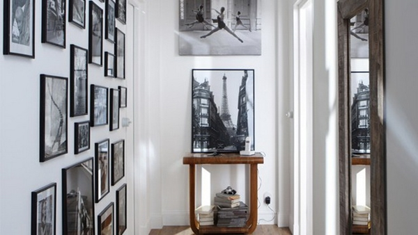 ideias de decoração de corredor