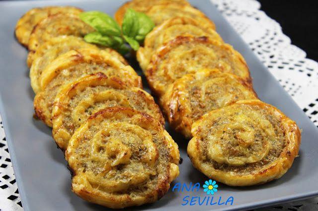 Caracolas de carne picada Thermomix Ana Sevilla