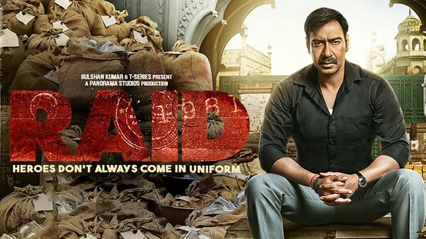 Raid - 10 best bollywood hindi movies of 2018