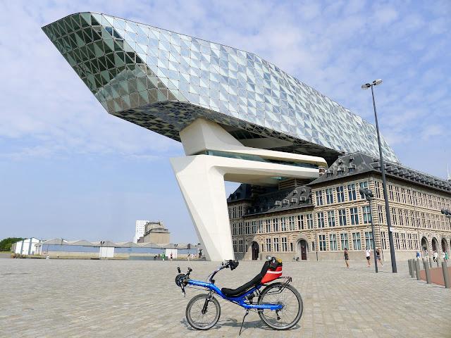 Tour de la Belgique en vélo,Anvers