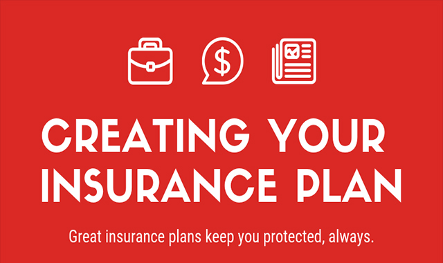 Develop your plan of insurance #infographic