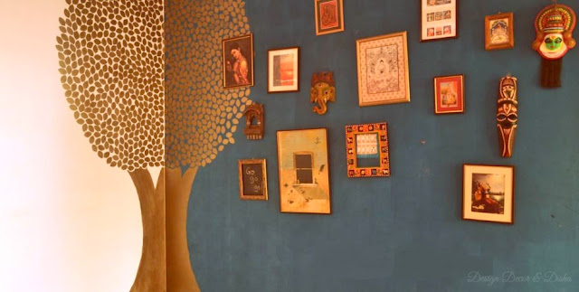Indian Gallery wall