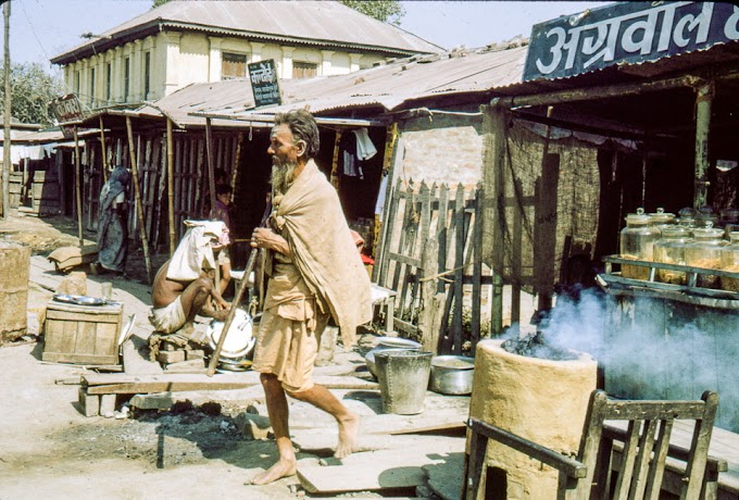 Old images of Biratnagar's street and markets during 1969