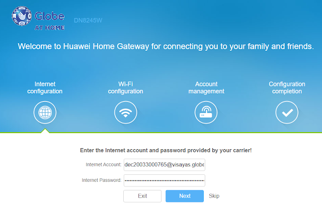 How To Change WiFi Password and Login Password | Globe At Home