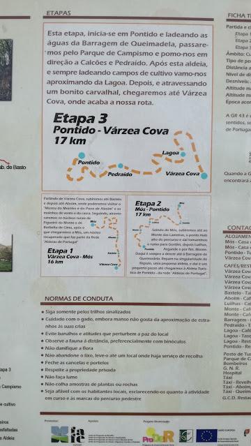 Etapa 3 Pontido - Várzea Cova 17 km