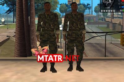 MTA SA Türk Askeri