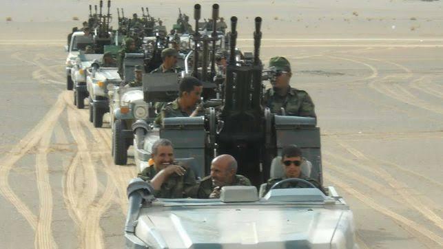 El Ejército saharaui afirma haber atacado el cuartel del 43º Cuerpo de las FAR marroquíes en Mahbes.