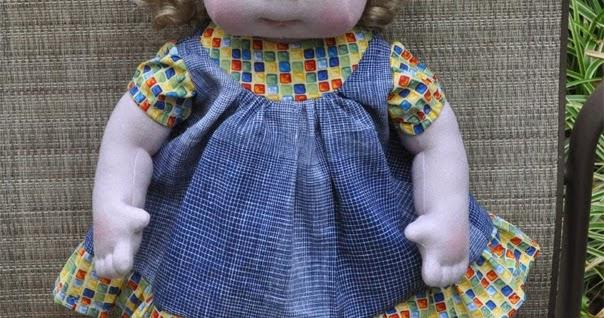 Life Waldorf Size Doll Pattern