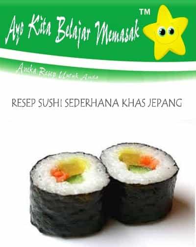 Cara Membuat Sushi Sederhana : membuat, sushi, sederhana, Resep, Sushi, Sederhana, Resto, Jepang, Belajar, Masak