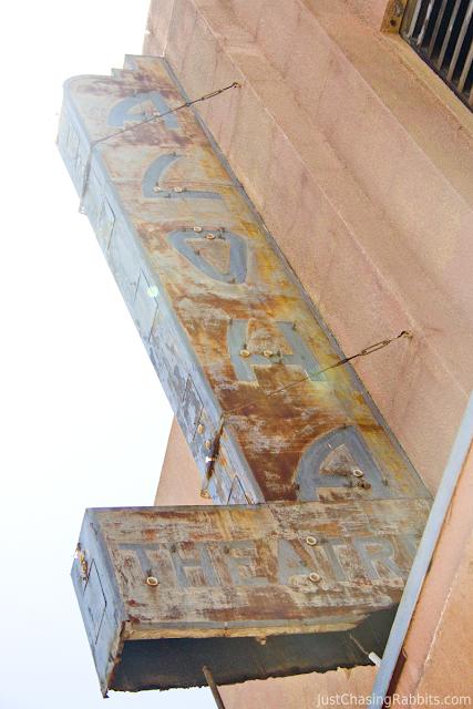 The Aloha Theatre, home of the Lilo & Stitch mural