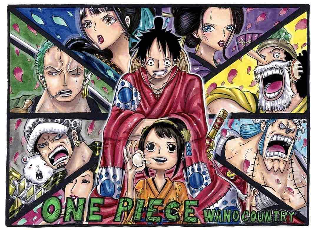 One Piece 949 Manga - One Piece 949 Delayed New Update ...
