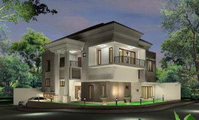 Aneka Desain Rumah Minimalis Modern 2 Lantai Hook Kekinian
