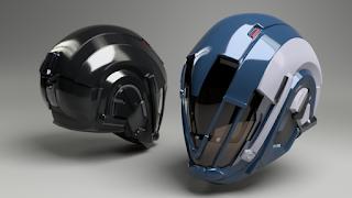 Destiny Helmet STL file by Paul Van Gaans
