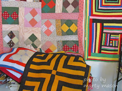 Quilts of Gee's Bend - photo by Marty Mason