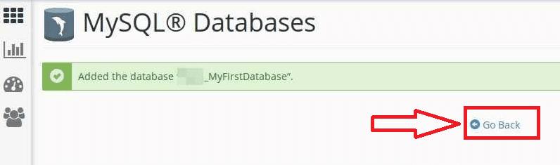 شرح مبسط لطريقة إنشاء database قاعدة بيانات MySQL على cPanel