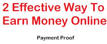How To Make Money Online, Effective Ways to Earn Money