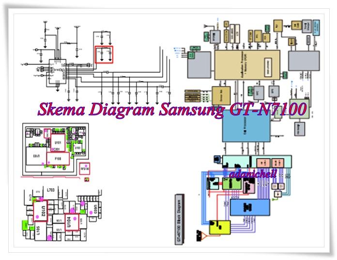 Skema Diagram Samsung Gt-n7100