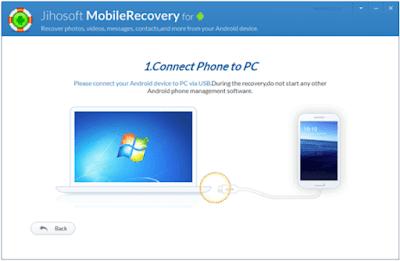 طريقة تشغيل برنامج Jihosoft Android Phone Recovery