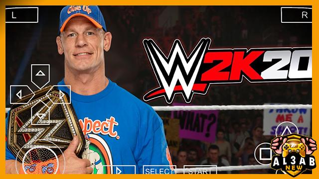 تحميل لعبة المصارعه WWE 2K 2020 psp للاندرويد من الميديا فاير