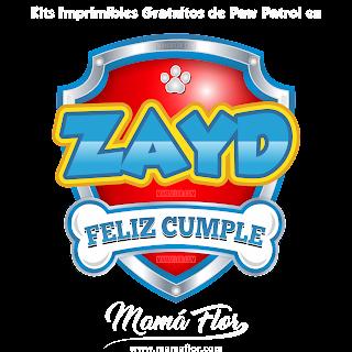 Logo de Paw Patrol: ZAYD
