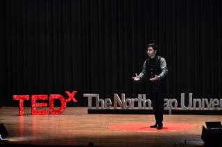 vanky kataria speaking at tedx NorthCap university in Gurgaon