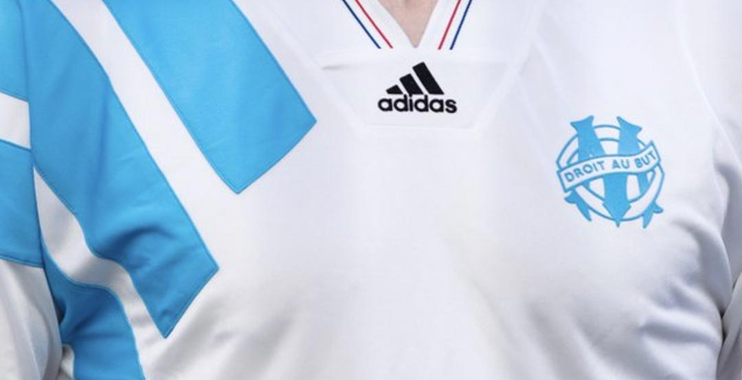 Awesome Adidas Olympique Marseille 1993 Champions League