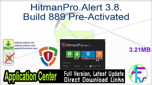 HitmanPro.Alert 3.8.8 Build 889 Pre-Activated