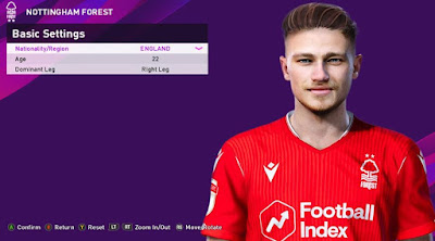 PES 2020 Faces Matty Cash by Rachmad ABs