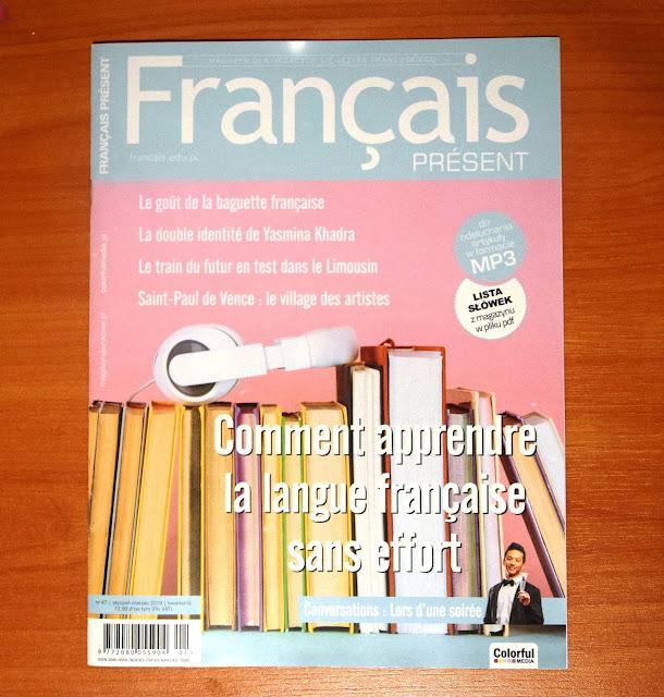 """Français Présent 47/2019"" - okładka czasopisma - Francuski przy kawie"