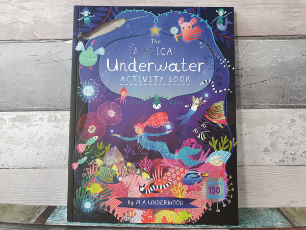 How to have hours of fun with the new Activity Book from Mia Underwood