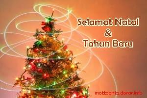 Kumpulan Kata Ucapan Selamat Natal dan Tahun Baru