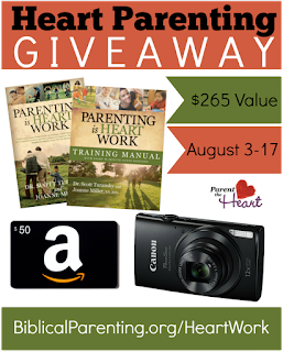 Parenting is Heart Work Giveaway (Ends August 17, 2015)