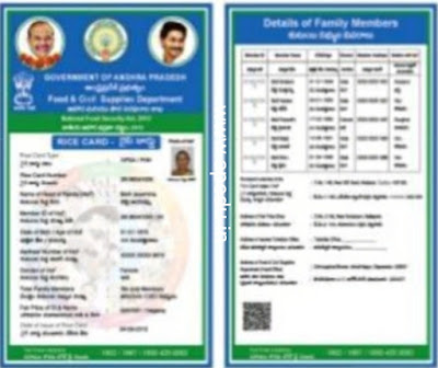 Government prepared new ration cards