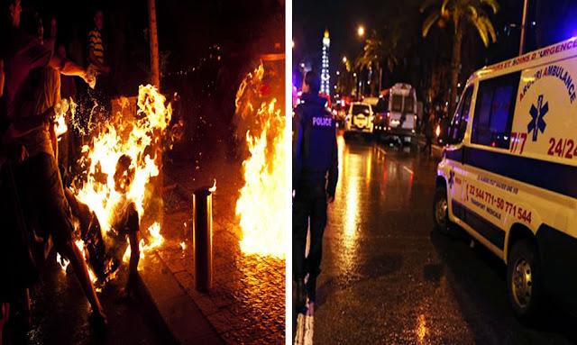 تونس : شاب يضرم النار في جسده بشارع الحبيب بورقيبة بعد انفصاله عن صديقته!