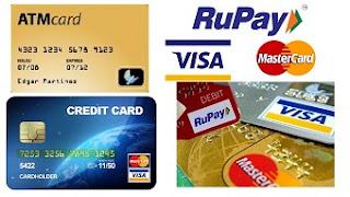 atm vs debit vs credit card