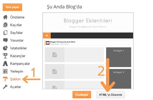 Blogger Özel Şablonlar Nasıl Yüklenir?