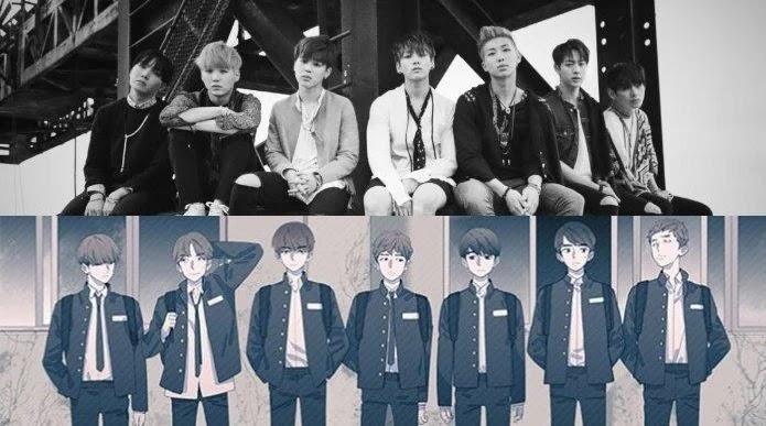 Keren! BTS Merilis Seri Web Komik Yang Bekerja Sama Dengan Naver Webtoon
