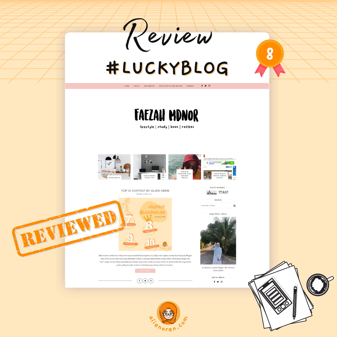 Review blog faezah mdnor