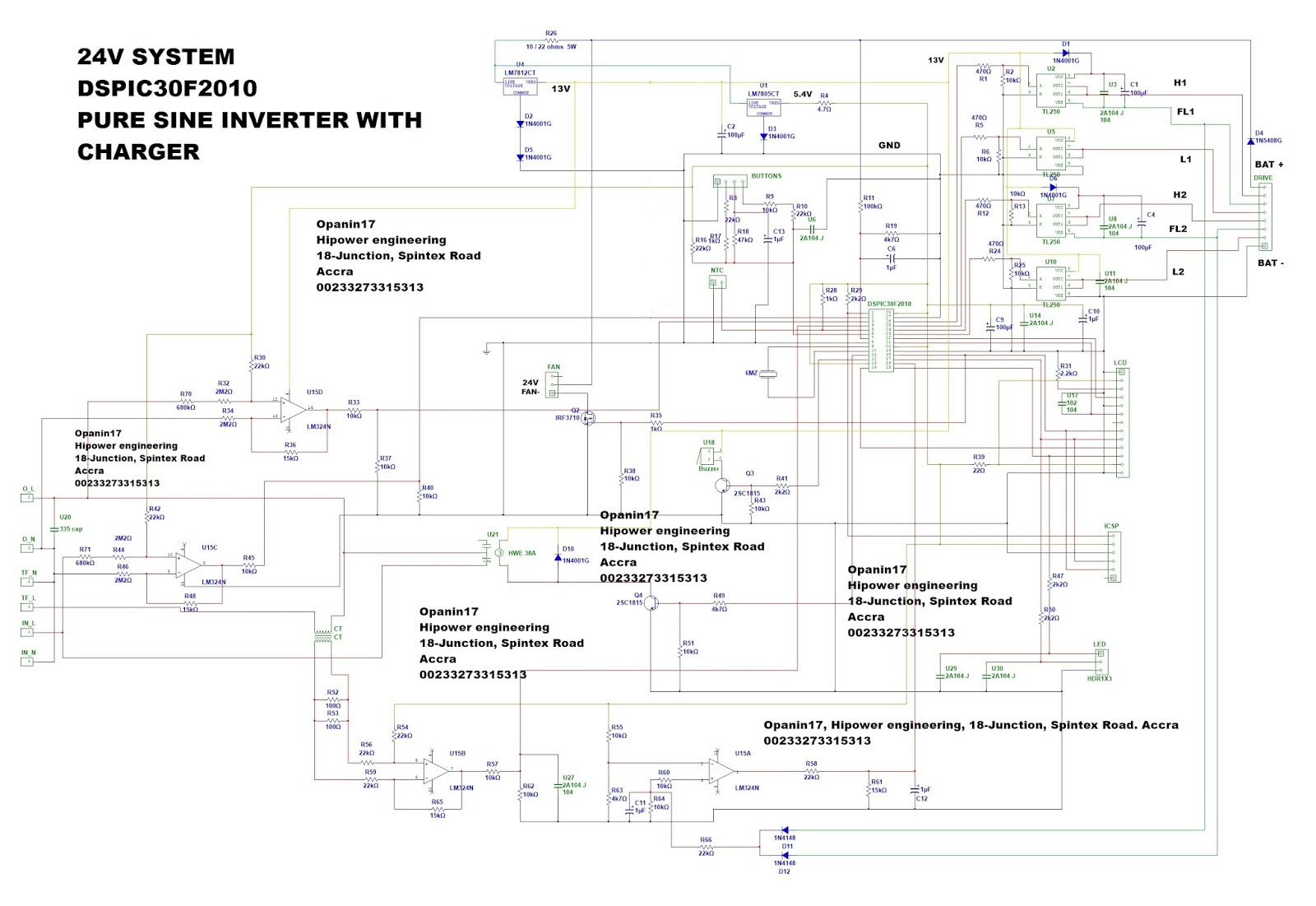 Wave Inverter Circuit Diagrams1000w Pure Sine Wave Inverter Circuit