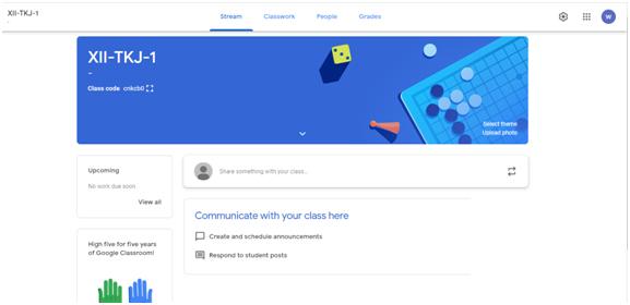 Panduan Google Classroom untuk Guru/Pengajar