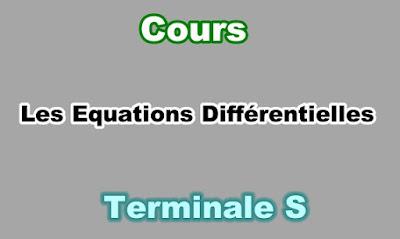 Cours Equations Différentielles Terminale S PDF