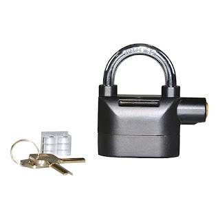 Gembok Alarm Anti Maling