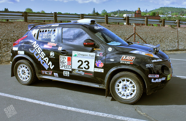 Nissan Juke Rally Car