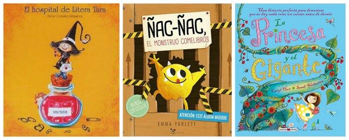 mejores cuentos y libros infantiles del 2016, hospital litera tura, ñac ñac, princesa gigante