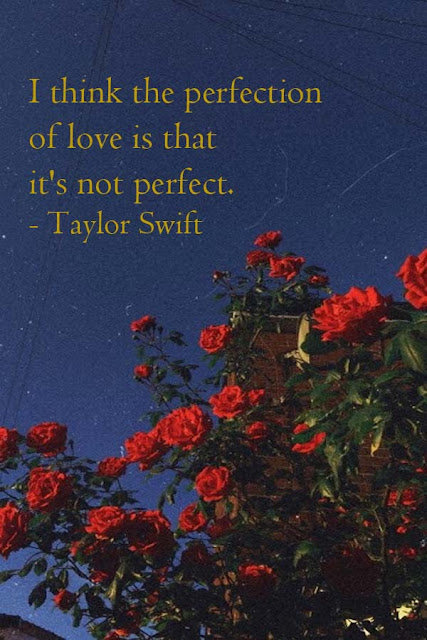 quotes aesthetic about love from Taylor Swift