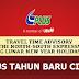 TTA Jadual Perjalanan PLUS Cuti Tahun Baru Cina 2017